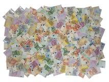 Europäische Rechnungen, Isolat, zum der unbegrenzten Beschaffenheit zu schaffen Lizenzfreie Stockfotos