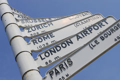 Europäische Reise Stockfoto