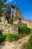 Europäische Schlossruinen Stockfoto