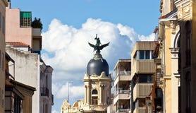 Europäische Stadt-Skyline Lizenzfreie Stockbilder