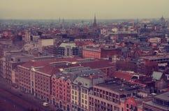 Europäische Stadt von Antwerpen stockbilder