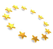 Europäische Sterne stock abbildung