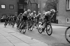 2017 europäische Straßen-Radsportmeisterschaften I Herning 2017-08-06 Fellesstart stockfotos