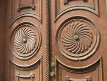 Europäische Tür Stockfoto