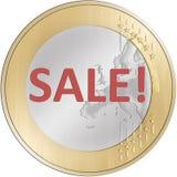 Europäische Verkäufe Lizenzfreie Stockfotos