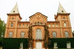Europäische Villa Lizenzfreies Stockbild