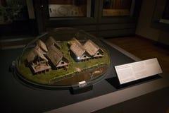 Europäische Vorgeschichte, Ashmolean-Museum, Oxford Stockbild