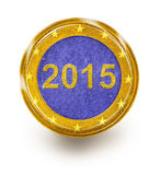 Europäische Wirtschaft 2015 Lizenzfreie Stockbilder