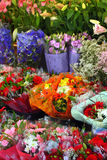Europäischer Blumenladen stockbilder