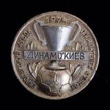 1975 europäischer Cup-Sieger ` Cup Stockbilder