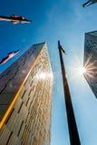 Europäischer Gerichtshof von Gerechtigkeit in Luxemburg Stockfotografie