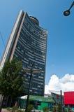 Europäischer Turm in Mulhouse Stockbild
