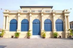 Europäisches Artgebäude Lizenzfreie Stockfotografie