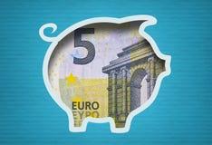 Europäisches Budget Stockbild