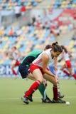 Europäisches Cup Deutschland 2011 England-V Ireland.Hockey Lizenzfreies Stockbild