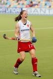 Europäisches Cup Deutschland 2011 England-V Ireland.Hockey Lizenzfreie Stockfotos