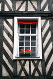 Europäisches Fenster stockfotos