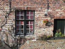 Europäisches Fenster Lizenzfreie Stockfotos