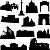Europäisches Gebäude Lizenzfreies Stockfoto