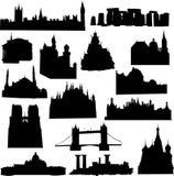 Europäisches Gebäude Lizenzfreie Stockfotos