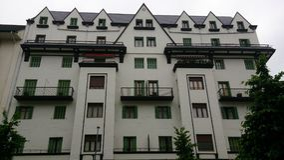 Europäisches Gebäude Lizenzfreie Stockbilder