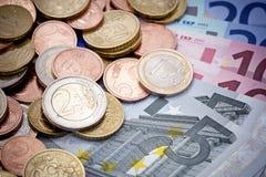 Europäisches Geld Lizenzfreies Stockfoto