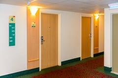 Europäisches Hotel Stockfotografie