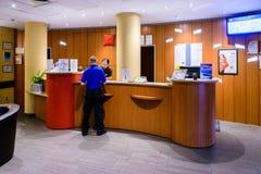 Europäisches Hotel Lizenzfreies Stockbild