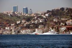 Europäisches Istanbul Stockfotos