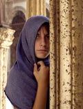 Europäisches Mädchen Stockfotografie