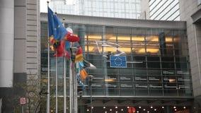 Europäisches Parlament stock footage