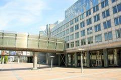 Europäisches Parlament in Brüssel Stockfotografie