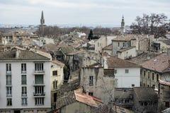 Europäisches Stadtbild von oben Stockfoto