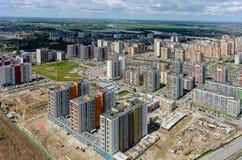 Europé för bostads- område Tyumen Ryssland Arkivbild