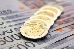 Européen de devise Image stock