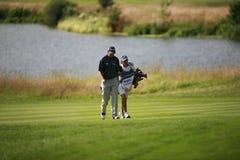 Européen de PGA ouvert à la cendre Kent de club de golf de Londres Photo libre de droits