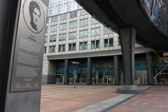 Européen Parlament à Bruxelles, Belgique photos stock