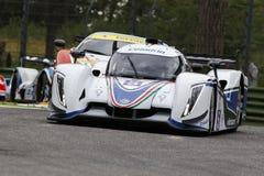 EuropéLe Mans serie Imola Arkivbild