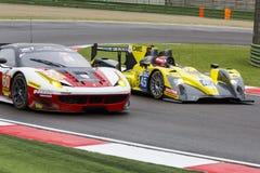 EuropéLe Mans serie Imola Arkivfoton
