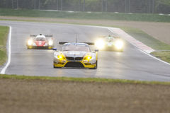 EuropéLe Mans serie Imola Royaltyfria Foton