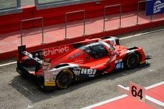 EuropéLe Mans serie Oreca - Nissan, vinnare på Imola Arkivbild