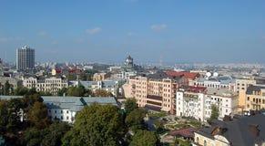 Européstad Kiev royaltyfria bilder