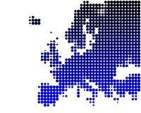 Europa översikt Royaltyfri Bild