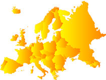 Europa royalty-vrije illustratie