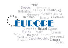 europa Imágenes de archivo libres de regalías