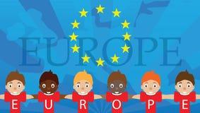 Europa stock illustratie