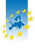 Europa-Abbildung lizenzfreie abbildung