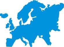Europa-Abbildung Lizenzfreies Stockbild