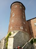 Europa, architektura, miasto, starzy budynki, Krakow fotografia stock