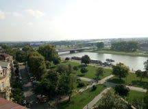 Europa, architektura, miasto, starzy budynki, Krakow fotografia royalty free